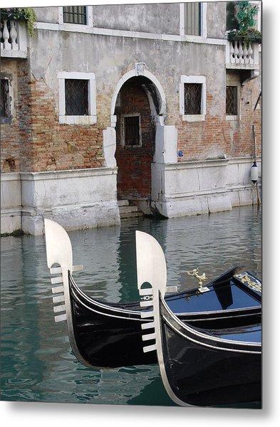 Visions Of Venice 3. Metal Print