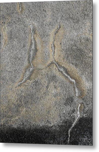 Wall Texture Number 2 Metal Print