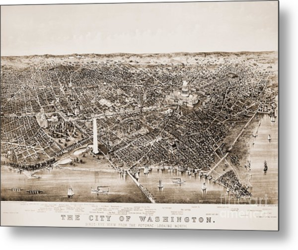 Washington D.c., 1892 Metal Print