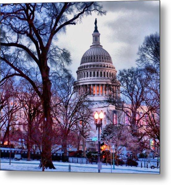 Washington D.c. One Metal Print