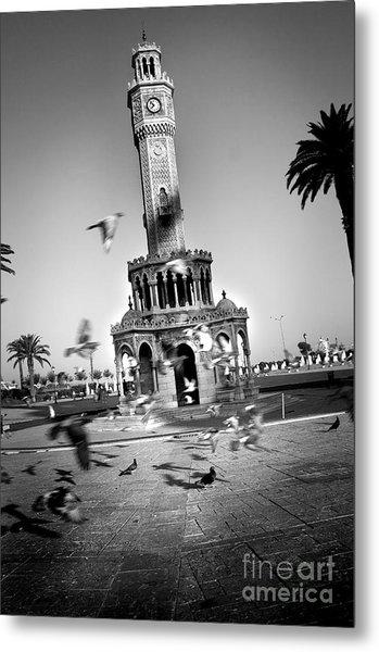 Watch Tower Metal Print by Kadir Murat Tosun