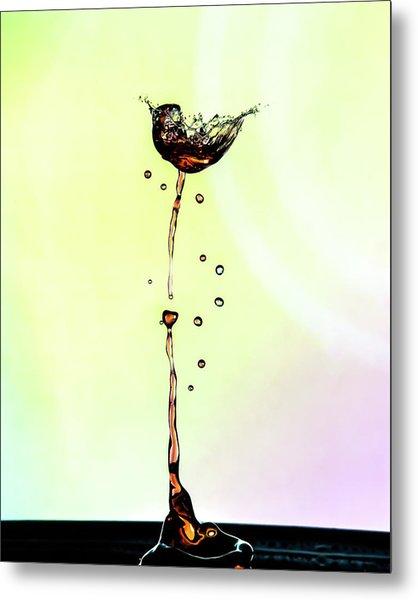 Water Drop #9 Metal Print