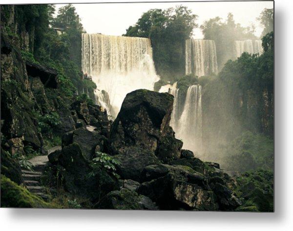 Waterfall 9 Metal Print
