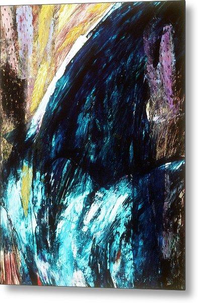 Waterfall Metal Print by Sue Reed