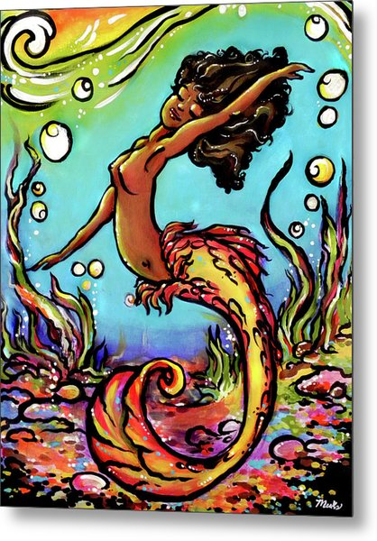 Wave Dancer  Metal Print