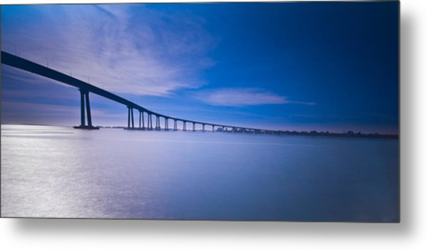 Way Over The Bay II Metal Print