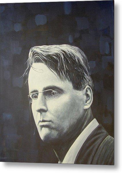 W.b. Yeats Metal Print by Eamon Doyle