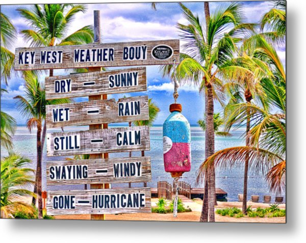 Weather Bouy Metal Print by Steve Cole