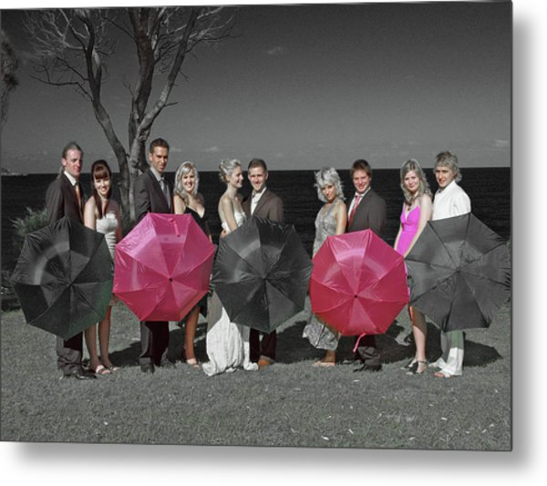 Wedding 6 Metal Print by Elisabeth Dubois
