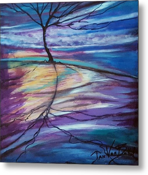 Well Rooted Metal Print
