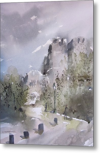 West Point Thayer Road Metal Print