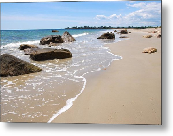 Westport Harbor Low Tide Metal Print