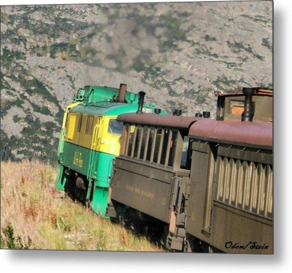 White Pass Yukon Route Railroad Metal Print by Dennis Stein