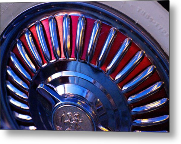 Whitewall Roulette Metal Print by Richard Henne
