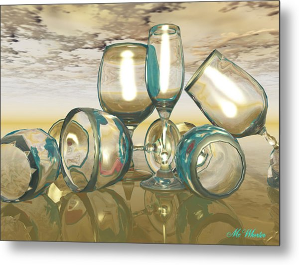 Chardonnay Metal Print by Williem McWhorter
