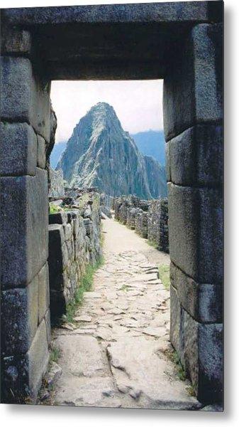 Winay Picchu Metal Print by Kathy Schumann