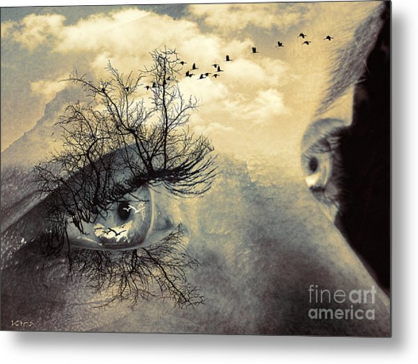 Window To The Soul Metal Print
