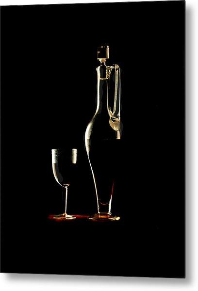 Wine Metal Print by Jon Daly