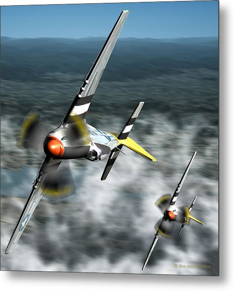 Wingman Metal Print by Jim Coe