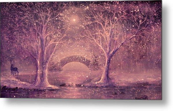 Winter Magic Metal Print by Ann Marie Bone