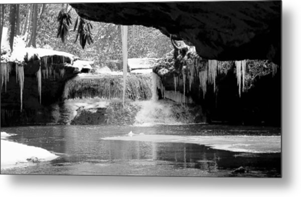 Winters Secrets Metal Print