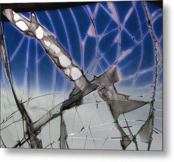 With Tinted Windows Metal Print by Elizabeth Reynders