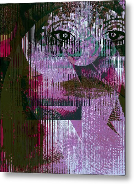 Woman - Art And Theory Metal Print by Fania Simon