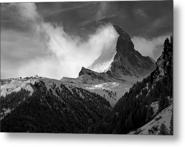 Wonder Of The Alps Metal Print