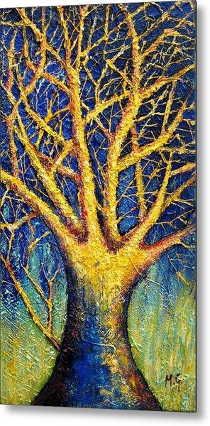 Wonder Tree Metal Print by Mirjana Gotovac