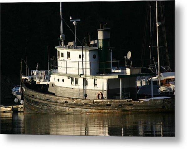 Workboat Metal Print by Doug Johnson