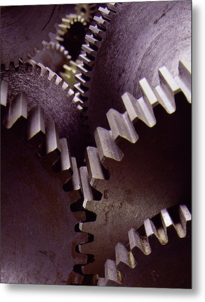 Working Together Metal Print