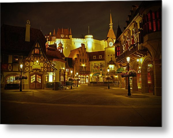 World Showcase - Germany Pavillion Metal Print