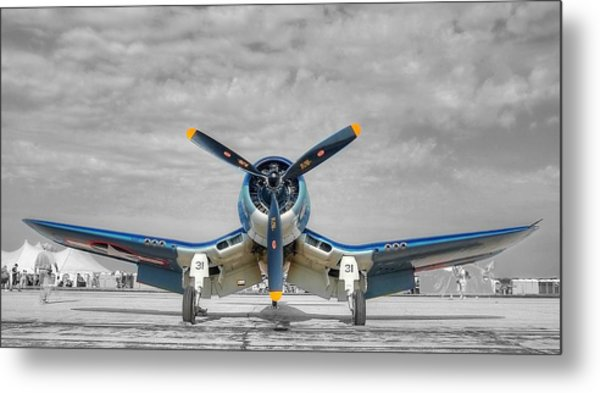 Ww II Fighter Plane 2 Metal Print