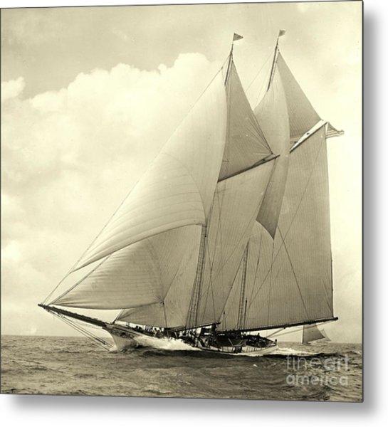 Yacht America 1910 Metal Print
