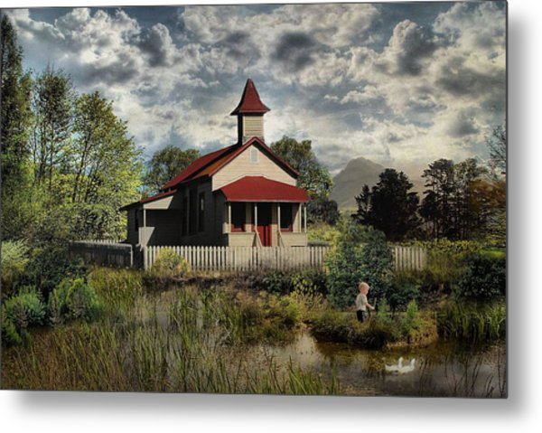 Yesterday When I Was Young .... Metal Print by Bob Kramer