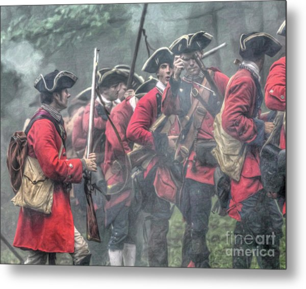 Young Lions French And Indian War  Metal Print