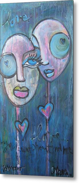 Your Haunted Heart And Me Metal Print