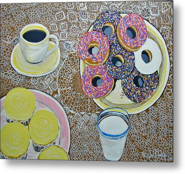Yummy Metal Print by Norma Tolliver