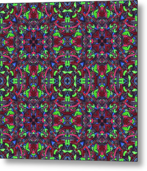 Zentao - Multi Pattern Metal Print