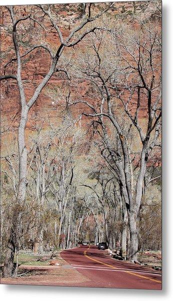 Zion At Kayenta Trail Metal Print