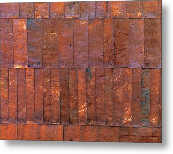 Can Wall 2 Metal Print by Leland D Howard