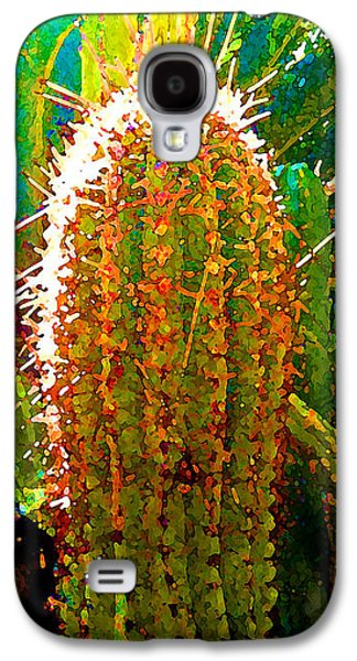 Backlit Cactus Galaxy S4 Case by Amy Vangsgard