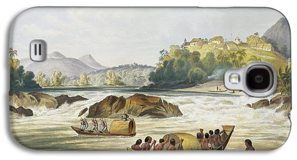 Brazilian Fort St. Gabriel On The Rio Galaxy S4 Case by Charles Bentley