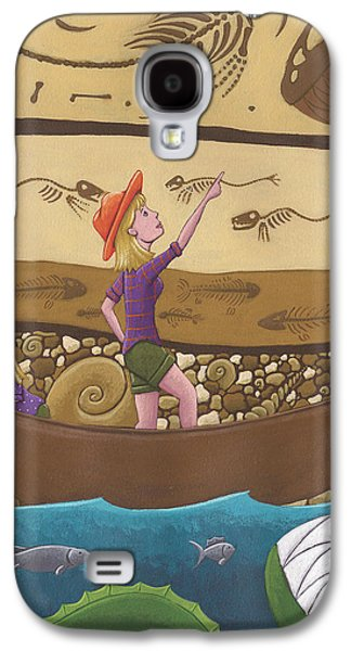 Fossils Galaxy S4 Case by Christy Beckwith