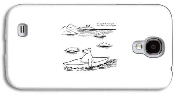 It's Oglub's Boat All Right Galaxy S4 Case by Otto Soglow