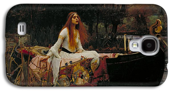 The Lady Of Shalott Galaxy S4 Case by John William Waterhouse
