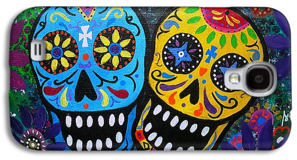 Couple Day Of The Dead Galaxy S4 Case