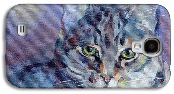 Green Eyed Tabby - Thomasina Galaxy S4 Case