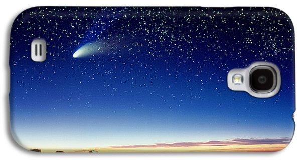 Mauna Kea Telescopes Galaxy S4 Case by D Nunuk and Photo Researchers