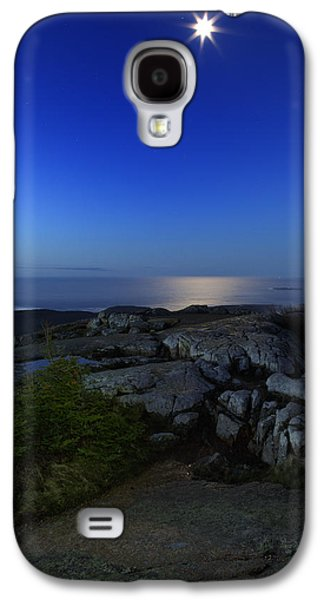 Moon Over Cadillac Galaxy S4 Case